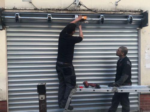 Réparation rideau métallique Bagneux
